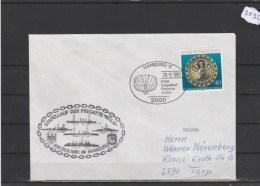 Brief Mit Schiffsstempel    F 220  Fregatte  KÖLN          29/5/81 - Maritime