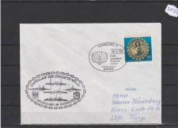 Brief Mit Schiffsstempel    F 220  Fregatte  KÖLN          29/5/81 - Marittimi