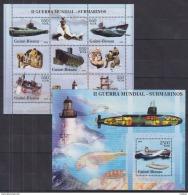 W36 Guinea-Bissau - MNH - Transport - Submarines - 2005