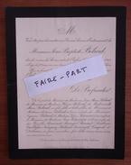 FAIRE-PART DECES 1901 BELARD FOURNIER VAYSSIERE BAISSAT ROCAGEL SAINRAPT CAYROL Paris Généalogie - Décès