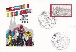 Germany Card Köln 1971 Preis Von Europa In Köln (T17-13)