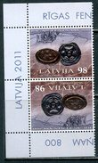 LATVIA 2011 № Michel: 808 800 Years To The First Coins Of Latvia