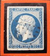 LOT GD/356 - NAPOLEON III N°14Ad Bleu Sur Vert - LPC - Cote : 180,00 €