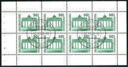 HBl. 21 Aus MH 10 Bauwerke Und Denkmäler 1990, VS-O Berlin ZPF Ersttag 2.10.90