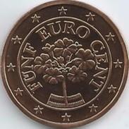 Oostenrijk 2017      5 Cent      UNC Uit De Rol  UNC Du Rouleaux  !! - Austria
