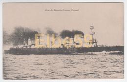 Marine Nationale, Croiseur Cuirassé Le Montcalm, écrite 1916 - Guerra