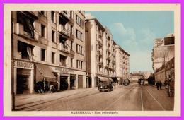 RUISSEAU Ou El ANNASSER (Algérie) - Rue Principale - Algerien