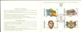 Suedafrika - Venda 1979 - Datenblatt SACC Sammler 1.1a - Unabhängigkeit - Suberb Zustand - Wie  Scan - Venda