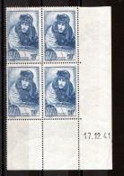 Coin Daté 1941 Du N° 461 - Neuf ** - Guynemer