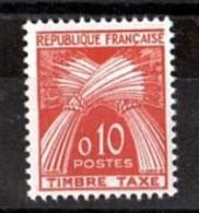 1960 - Taxe N° 91 - Neuf ** - Type Gerbes