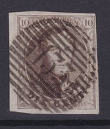 N° 10 A Bien Margé BDF Perception 133 YPRES - 1858-1862 Medallones (9/12)