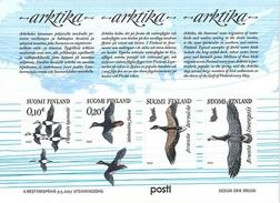 Fin27 Sheet Birds 2017 MNH-neuf