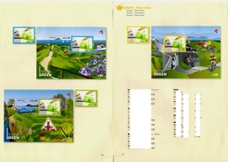 """Portugal 2016 - 2 Pages Europa """" Ecology In Europe - Think Green """" Folder Ordner Prospectus - Europa-CEPT"""