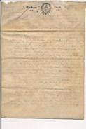 PARCHEMIN De 1682 Sur Un Mariage à Identifier  ( Double Page Entièrement Scannée ) - Historische Documenten