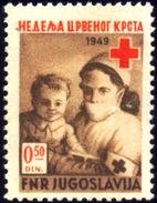 RED CROSS-YUGOSLAVIA-SCARCE-B3-444