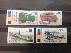 Tsjechië / Czech Republic - Postfris / MNH - Complete Set Transportmiddelen 2017 - Tsjechië