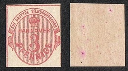 HANNOVER 1853 MNH** MICHEL#6a €450,00