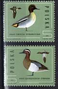 PIA  -  POLONA -  1985  :  Protezione Della Fauna : Anatre  -   (Yv 2809-14) - Anatre