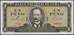 CUBA 1 PESO 1961 SC-UNC - Cuba