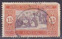 Senegal, 1914/1933 - 15c Senegalese Preparing Food - Nr.87 Usato° - Senegal (1960-...)