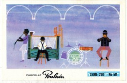 Image Chocolat Poulain Série N° 200 : Des Orchestres Célèbres Pour La Qualité De Leurs Musiciens => Image N° 50 JAZZ - Poulain