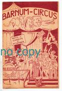 Barnum-Circus, Charlys Et Maurice Vandair, Parade Foraine, Partition - Chant Soliste