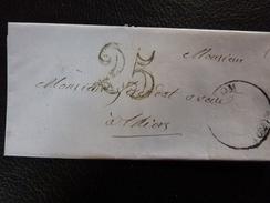 Lot Du 23.05.17_LAC De 1852,a Voir!! - Marcophilie (Lettres)