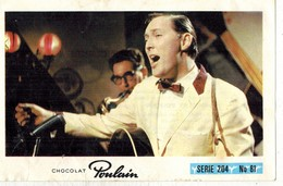Image Chocolat Poulain Série N° 204 : Musique Populaire Blanche Américaine => Image N° 81 - Artiste Chanteur - Poulain
