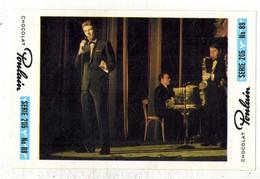 Image Chocolat Poulain Série N° 205 : Le Vieux MUSIC HALL => Image N° 88 - Artiste Chanteur Musique - Poulain