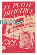 La Petite Diligence, Marc Fontenoy, André Claveau, Fox Cahotant, Partition - Chant Soliste