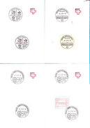 Box Switzerland ATM Schalterfreistempel & Package Cards. - Stamped Stationery