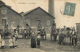 28: ¨Pontgouin : La Laiterie Attelages De Livraison - Other Municipalities