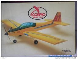 CATALOGO SCORPIO - 1988/89 - Modelli Dinamici (radiocomandati)