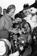 Postcard / ROYALTY / Belgium / Belgique / Reine Fabiola / Koningin Fabiola / Tourinnes-la-Grosse / Deurne / 1968 - Beauvechain
