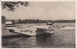 Konstanz (Bodensee) Verkersflugzeug Wasserflugzeug - Flieger