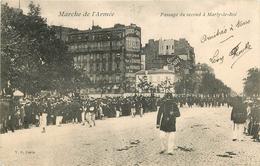 Marche De L'Armée Passage Du Second à Marly-le-Roi - Marly Le Roi