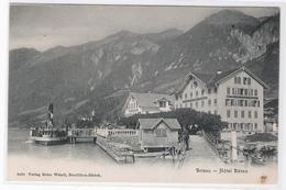 CPA - SUISSE - Brienz - Hôtel Bären - BE Berne