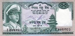 MINT NEPAL RUPEES-100 BANKNOTE KING MAHENDRA 1972 PICK-19 UNCIRCULATED UNC - Nepal