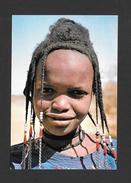 HAUTE VOLTA - EN PAYS LIPTAKO - AFRIQUE - RENCONTRE D'UNE PETITE PEULH GAOBE ENTRE MARKOYE ET GOROM - PHOTO DIAVOLTA - Cartes Postales