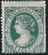 ESPAGNE 1865 - Télégraphe (Telegrafos) N° 11 - Neuf Sans Gomme - Telegrafen