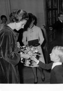 Postcard / ROYALTY / Belgium / Belgique / Reine Fabiola / Koningin Fabiola / Blicquy / 1968 - Leuze-en-Hainaut