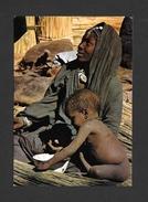 HAUTE VOLTA - MARKOYE - AFRIQUE - AU MARCHÉ,FEMME À L'ENFANT - PHOTO DIAVOLTA - Cartes Postales