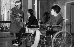Postcard / ROYALTY / Belgium / Belgique / Reine Fabiola / Koningin Fabiola / Melsbroek / Melsbroeck / 1968 - Steenokkerzeel