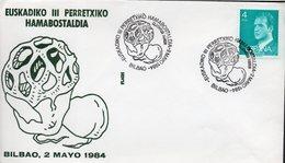 Espagne España 1984 05 Exposition Philatélique Thématique Champignon