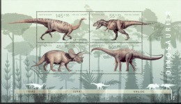 Bund Block 73 Dinosaurier Postfrisch MNH ** - [7] West-Duitsland