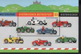 Bund Block 75 Motorsport ** Postfrisch, MNH, Neuf - [7] West-Duitsland