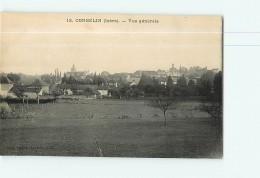 CORBELIN - Vue Générale - 2 Scans - Corbelin
