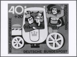 Thematik: Druck-Literatur-Märchen / Printing-literature-fairy Tales: 1965/1966, Bundesrepublik Deutschland, Wohlfah