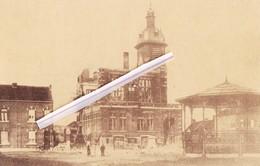 NIMY - Maison Communale Après La Guerre