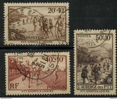 France (1937) N 345 à 347 (o) - France